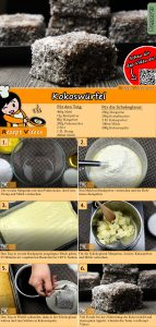 Kokoswürfel Rezept mit Video