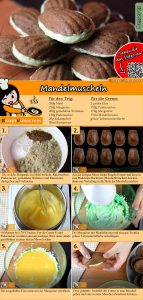 Mandelmuscheln Rezept mit Video