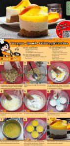 Orangen-Quark-Feiertagstörtchen Rezept mit Video