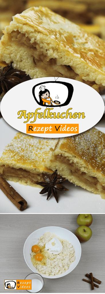 Apfelkuchen, Kuchenrezepte, Rezeptvideos, leckere Rezepte, einfache Rezepte, Frühstück Rezepte, Frühstücksrezepte, schnelle Rezepte