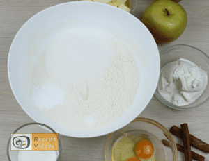 Apfelkuchen Rezept - Zubereitung Schritt 9