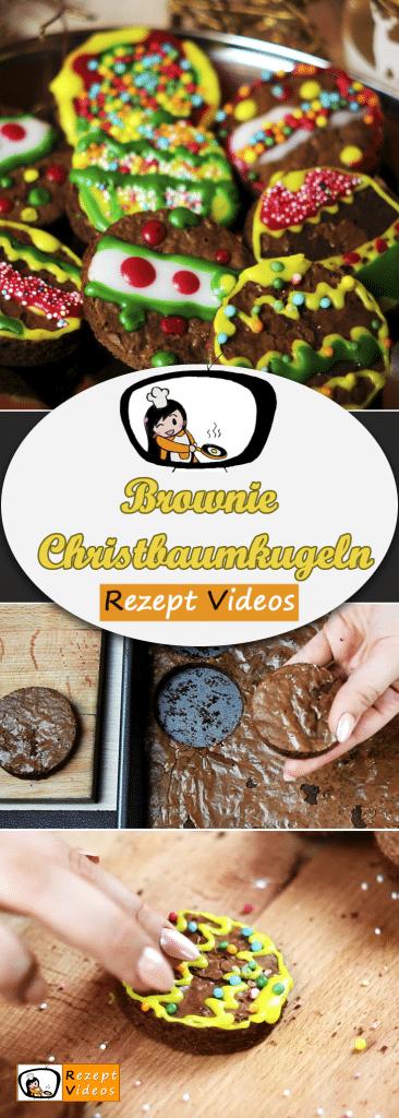 Brownie Christbaumkugeln, Rezeptvideos, leckere Rezepte, einfache Rezepte, Frühstück Rezepte, Frühstücksrezepte, schnelle Rezepte, Weihnachten Rezepte, Advent, Brownie Rezept