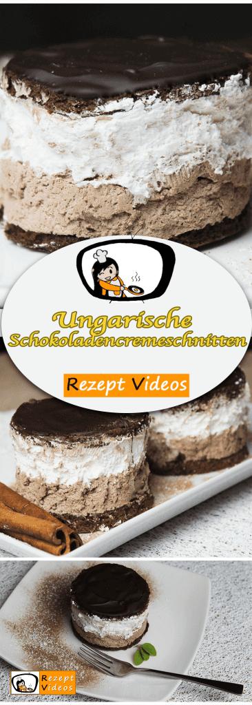 Rigó Jancsi – Ungarische Schokoladencremeschnitten, Rezeptvideos, leckere Rezepte, einfache Rezepte, Frühstück Rezepte, Frühstücksrezepte, schnelle Rezepte, Torten Rezepte