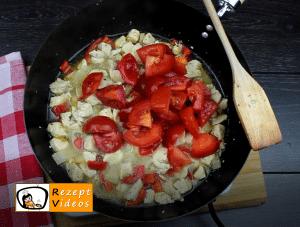 Bacon-Fleisch-Pie Rezept - Zubereitung Schritt 7