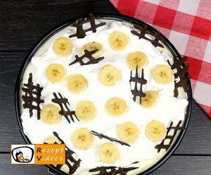 Bananen-Sahnetorte Rezept Zubereitung Schritt 9