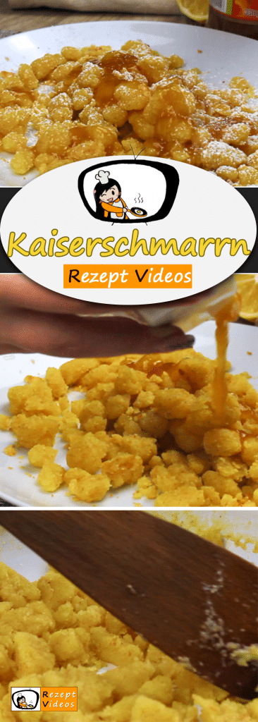 Kaiserschmarrn, Rezeptvideos, einfache Rezepte, Frühstück Rezept, leckere Rezepte, schnelle Rezepte,