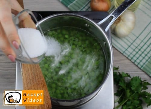 Erbsengemüse Rezept Zubereitung Schritt 4