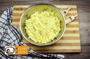 Gefüllte Kartoffelroulade im Speckmantel Rezept Zubereitung Schritt 3