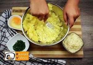 Gefüllte Kartoffelroulade im Speckmantel Rezept Zubereitung Schritt 1