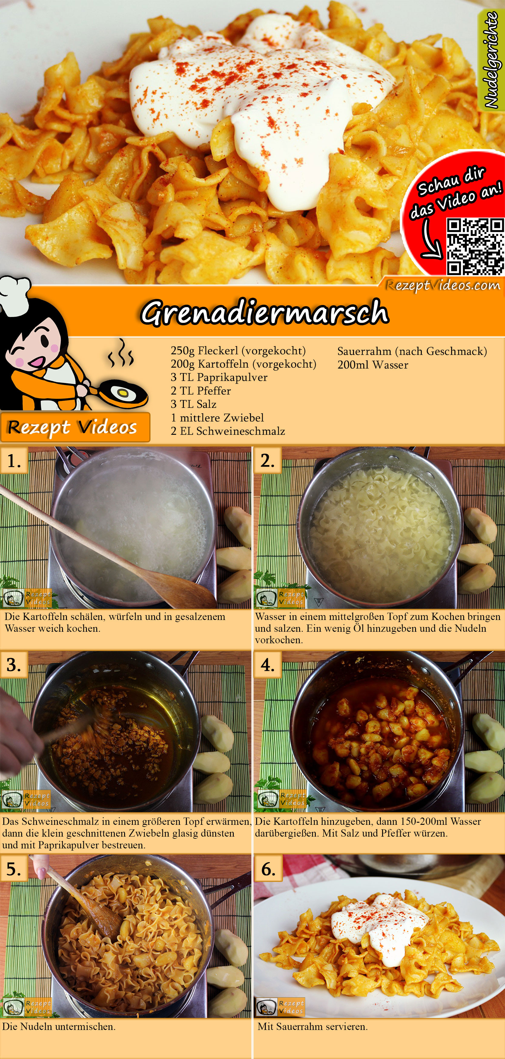 Grenadiermarsch Rezept mit Video