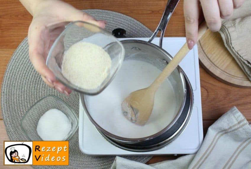 Grießbrei Rezept - Zubereitung Schritt 2