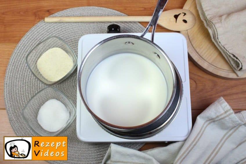 Grießbrei Rezept - Zubereitung Schritt 1