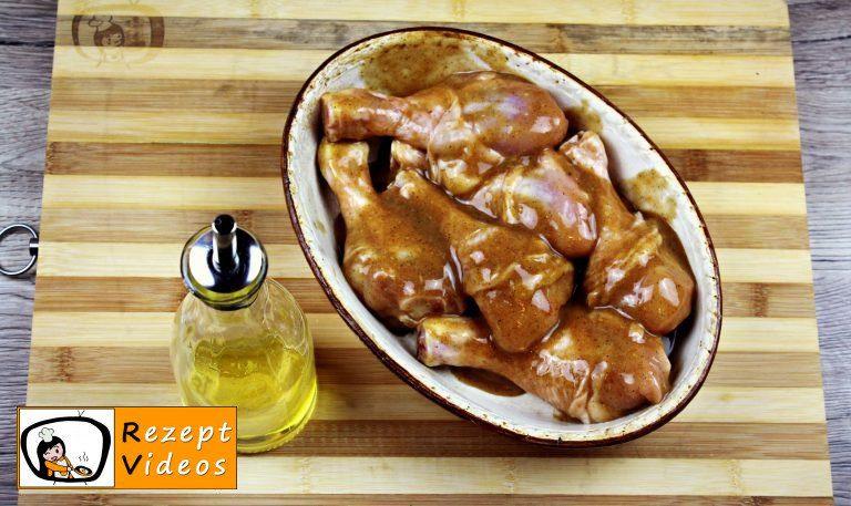 Hähnchenschenkel mit Honig und Senf Rezept - Zubereitung Schritt 2