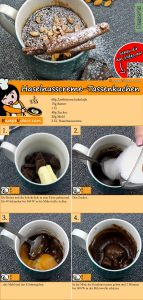 Haselnusscreme-Tassenkuchen Rezept mit Video
