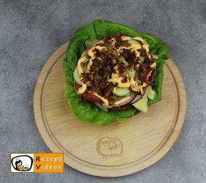 Hausgemachte Hamburger Rezept Zubereitung Schritt 5