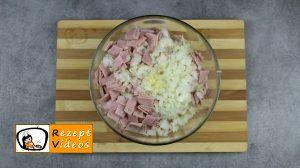 Reisbällchen mit Schinken und Käse Rezept Zubereitung Schritt 2