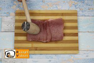 Gefüllte Koteletts im doppeltem Speckmantel Rezept - Zubereitung Schritt 1