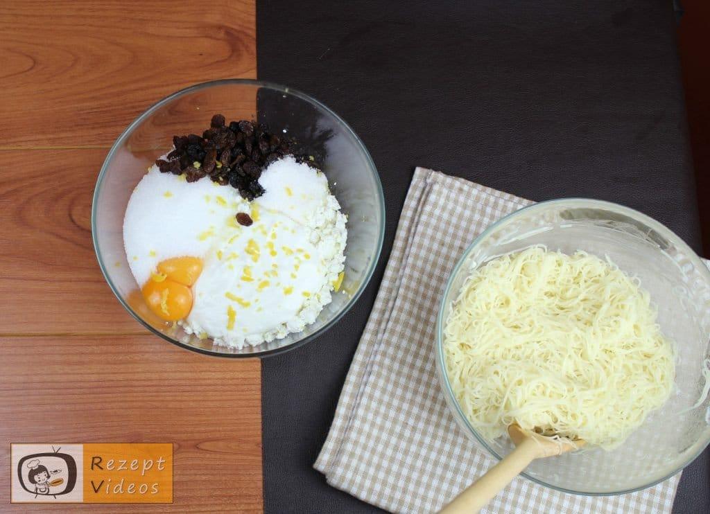 Quarkstrudel Rezept - Zubereitung Schritt 1