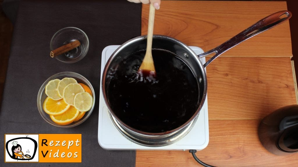 Glühwein Rezept - Zubereitung Schritt 1
