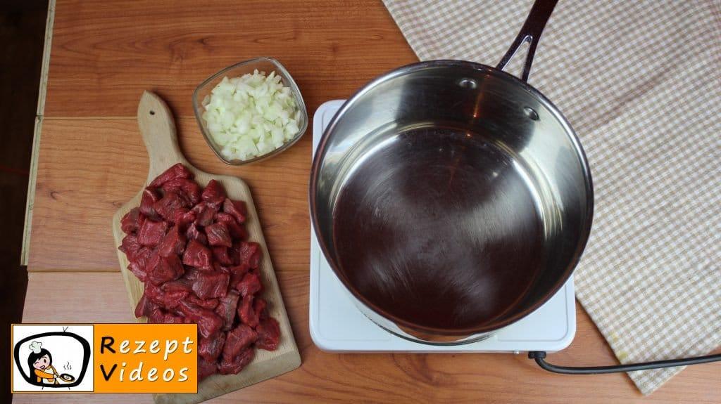 Gulaschsuppe Rezept Zubereitung Schritt 1