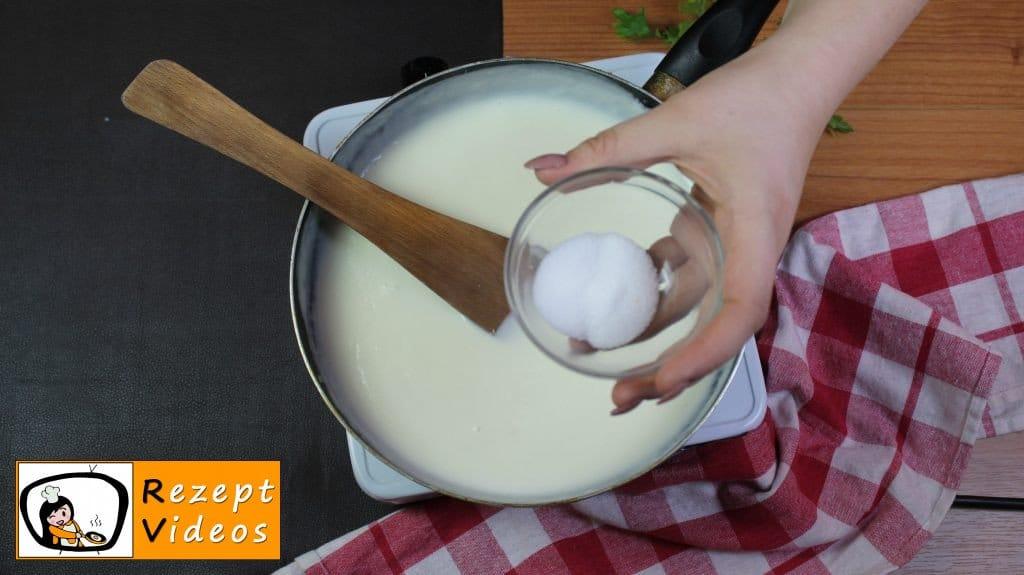 Béchamelsoße Rezept - Zubereitung Schritt 3