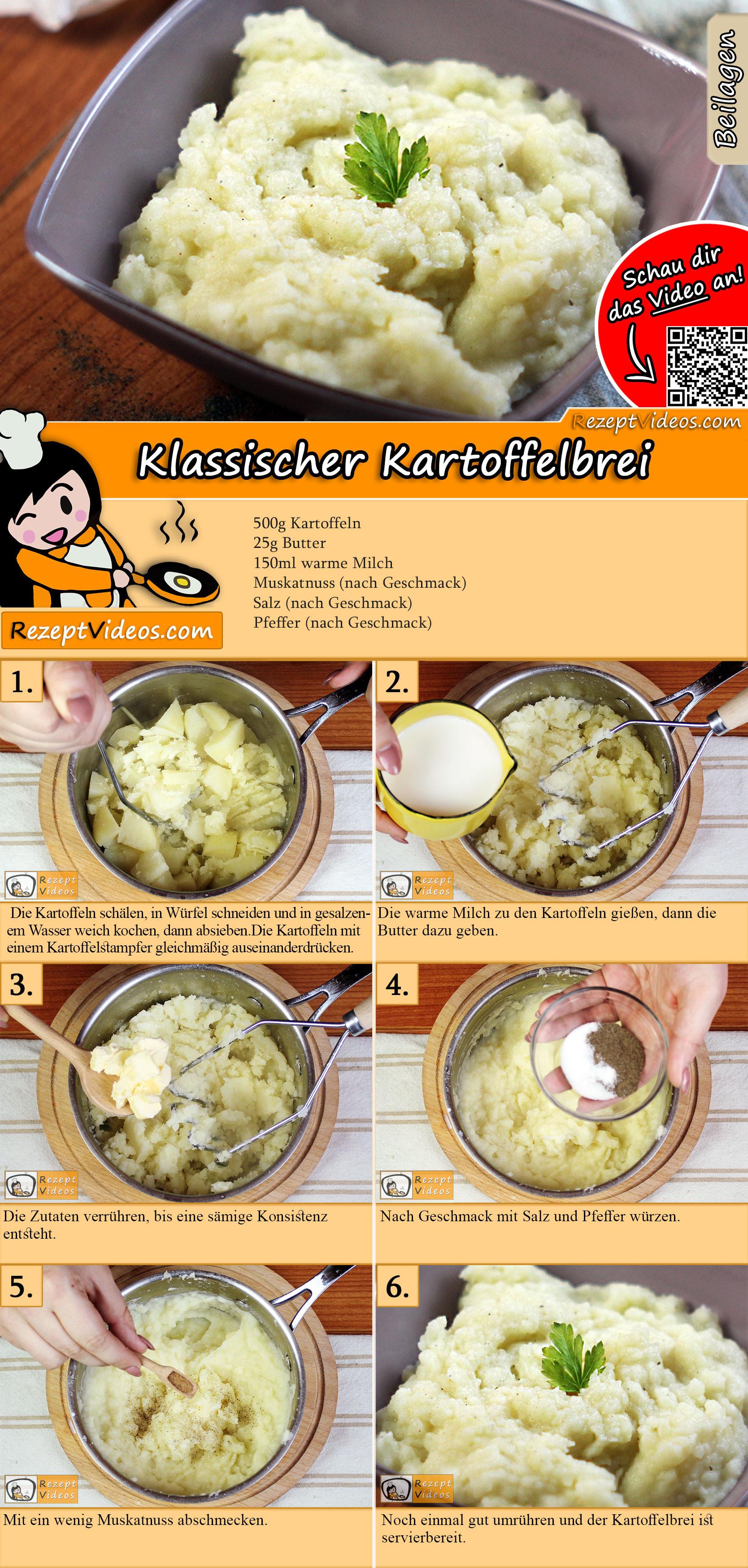 Klassischer Kartoffelbrei Rezept mit Video