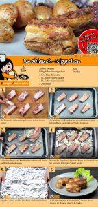 Knoblauch-Rippchen Rezept mit Video