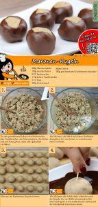 Maronen-Kugeln Rezept with Video