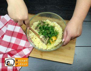 Mit Käse gefüllte Kartoffeltaler Rezept Zubereitung Schritt 3