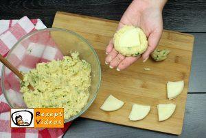 Mit Käse gefüllte Kartoffeltaler Rezept Zubereitung Schritt 6