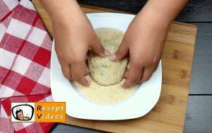 Mit Käse gefüllte Kartoffeltaler Rezept Zubereitung Schritt 9