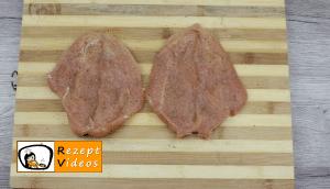 Mit Liptauer gefüllte Hähnchenbrust im Speckmantel Rezept - Zubereitung Schritt 3