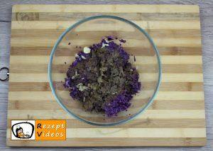 Rotkohl-Frikadellen Rezept Zubereitung Schritt 2