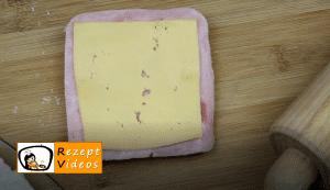 Schinken-Käsestangen Rezept Zubereitung Schritt 6