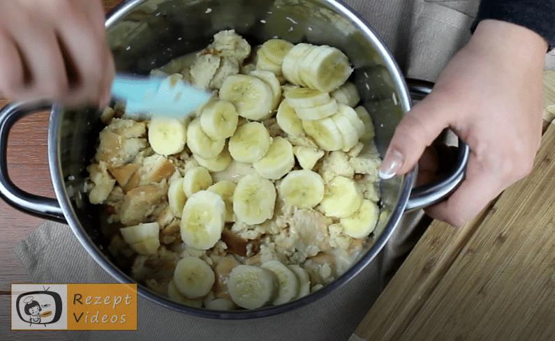 Bananenbrotauflauf Rezept - Zubereitung Schritt 4