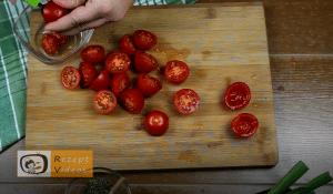 Tomatenhäppchen im Schlafrock Rezept Zubereitung Schritt 2