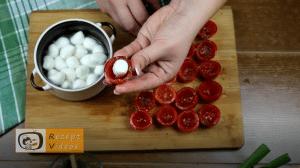 Tomatenhäppchen im Schlafrock Rezept Zubereitung Schritt 4