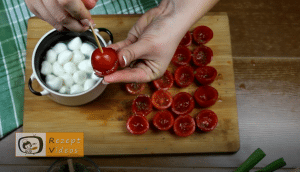 Tomatenhäppchen im Schlafrock Rezept Zubereitung Schritt 5