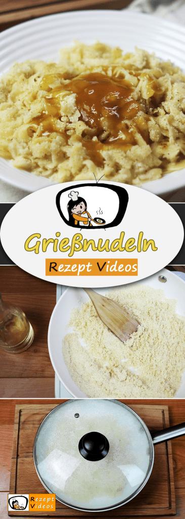 Einfache Grießnudeln Rezept Videos, einfache Gerichte, einfache Rezepte, schnelle Rezepte, schnelle Gerichte, Rezeptideen, Nachtisch, Dessert