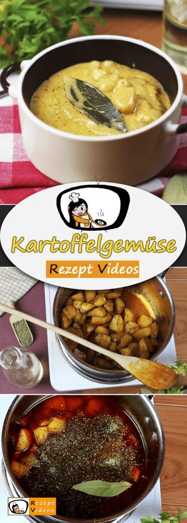Kartoffelgemüse, Beilagen Rezept, Rezept Videos, einfache Gerichte, schnelle Rezepte, Rezeptideen, selber backen, kochen,