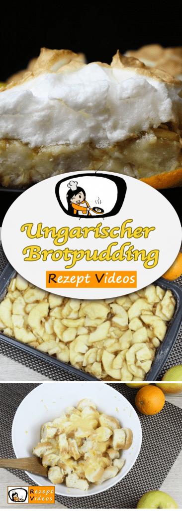 Ungarischer Brotpudding, Rezeptvideos, Apfel Rezepte, leckere Rezepte, einfache Rezepte, Frühstück Rezepte, Frühstücksrezepte, schnelle Rezepte