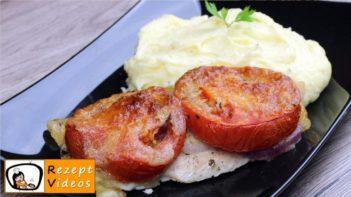 Hähnchenbrust mit Mozzarella und Tomaten