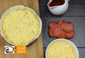 Überbackene Mini-Pizza Rezept - Zubereitung Schritt 6