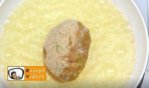Mit Ei gefüllte Frikadellen Rezept - Zubereitung Schritt 7
