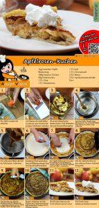 Apfelrosen-Kuchen Rezept mit Video