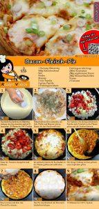 Bacon-Fleisch-Pie Rezept mit Video
