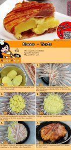 Bacon-Torte Rezept mit Video