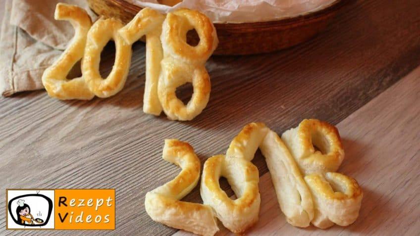 Blätterteiggebäck zu Neujahr - Rezept Videos