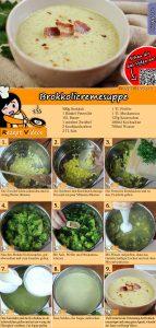 Brokkolicremesuppe Rezept mit Video