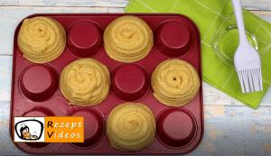 Churro-Muffins mit Vanilleeis Rezept - Zubereitung Schritt 7